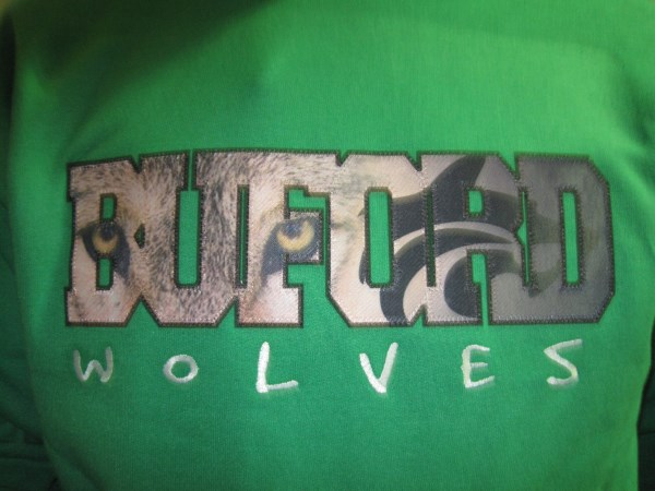 applique wolf eyes buford
