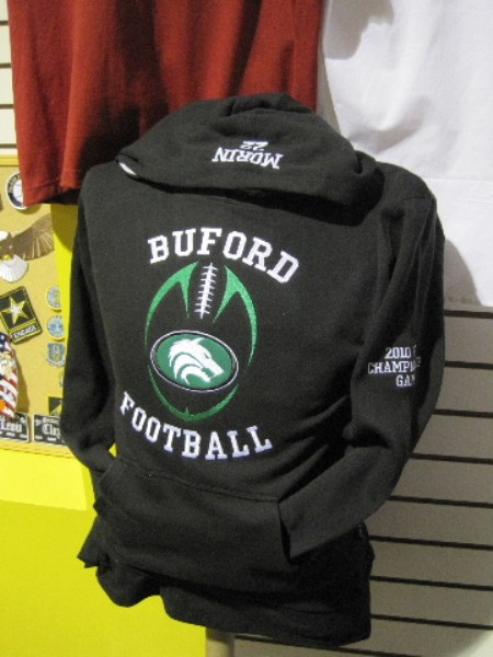 Applique Buford applique Football