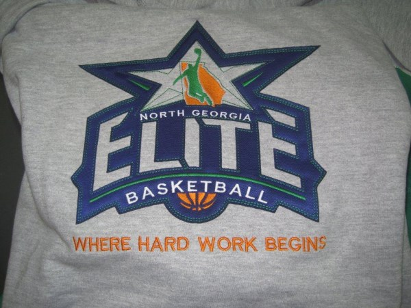Applique basketball elite