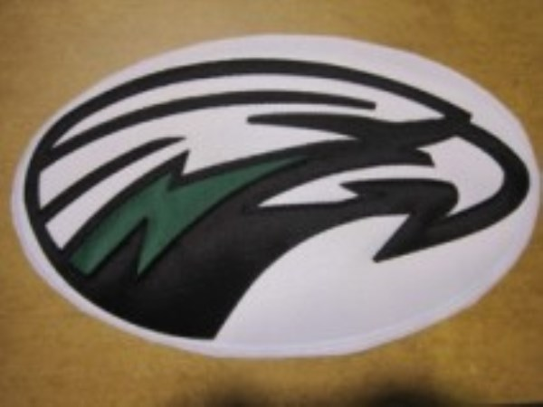 Applique eagles2color