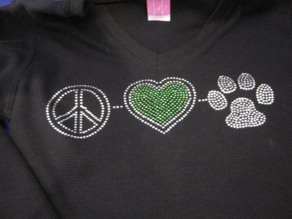 Bling peace love