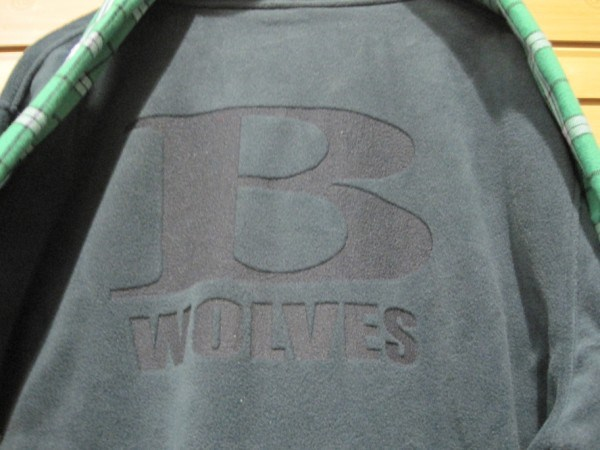 Etched B Wolves Fleece